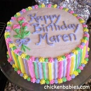 tween girl birthday cake