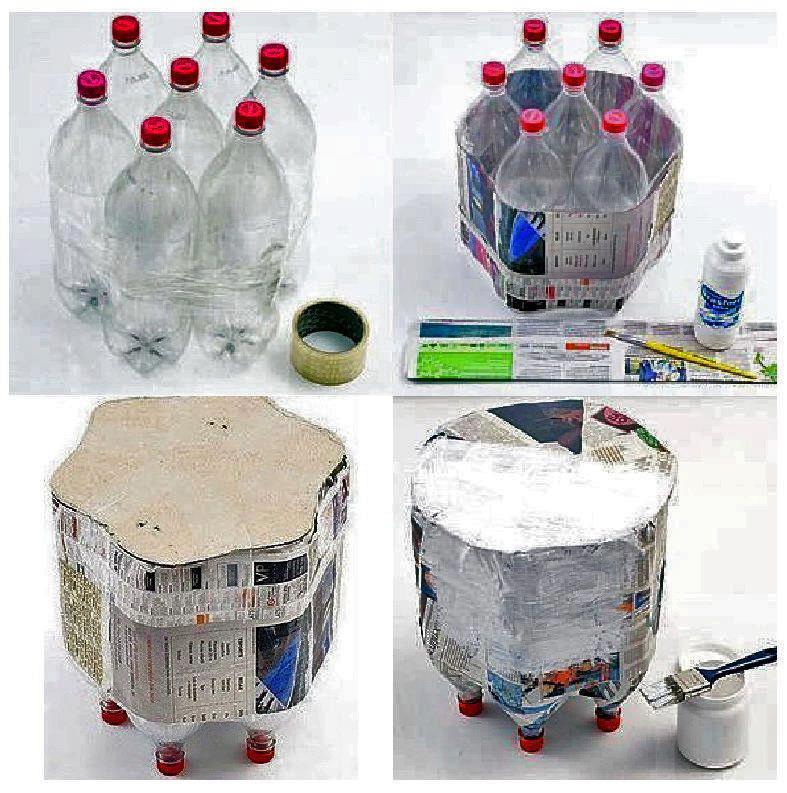 muebles+a+partir+de+botellas+de+pet+o+envases+vacios+de+plastico+pas