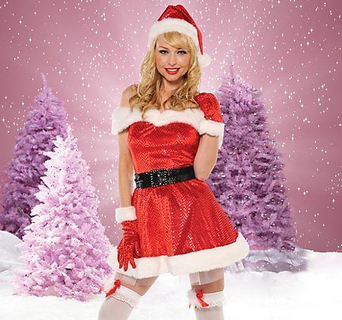 Hot santa girl wallpaper