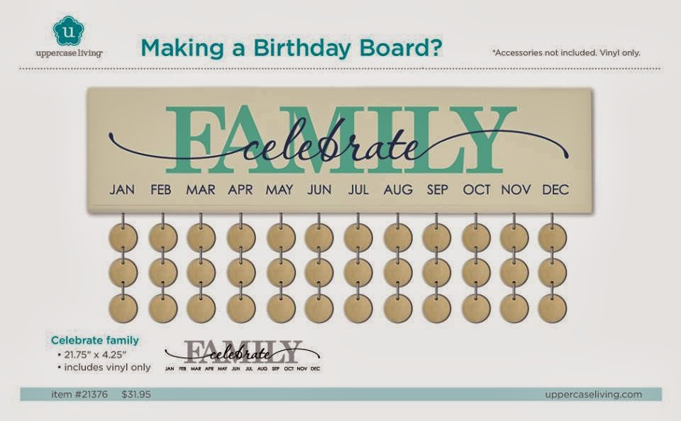Jeanmarie S Uppercase Living Expressions Birthday Boards