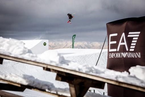 Slopestyle Europacup Snowpark Seiser Alm