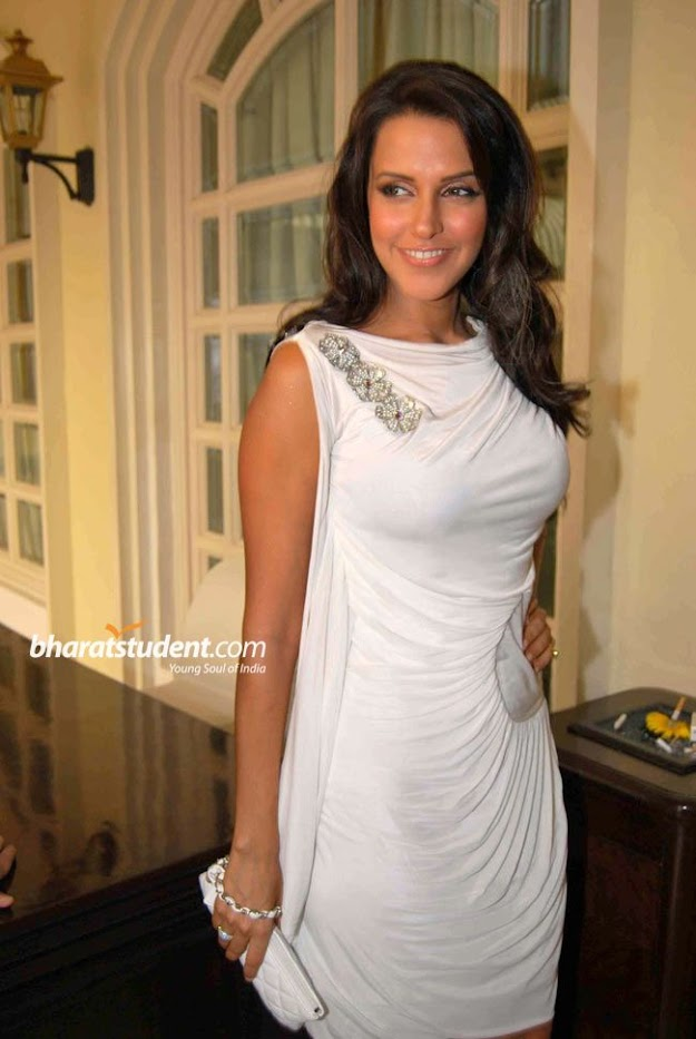 Neha dhupia white dress hot photo - (11) - Top 10 seductive bollywood babes