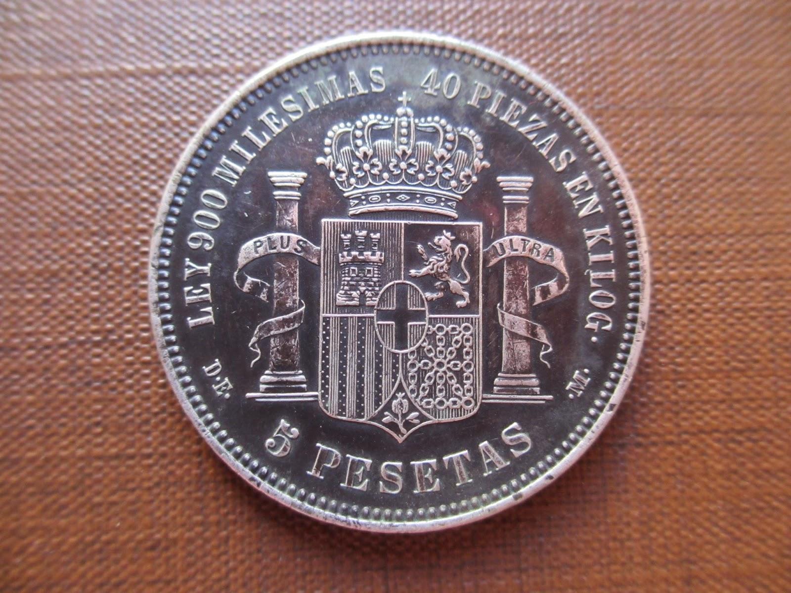 5 Pesetas Amadeo I 1874 IMG_0759