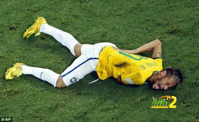 كيف سخرت جماهير الأرجنتين من إصابة نيمار