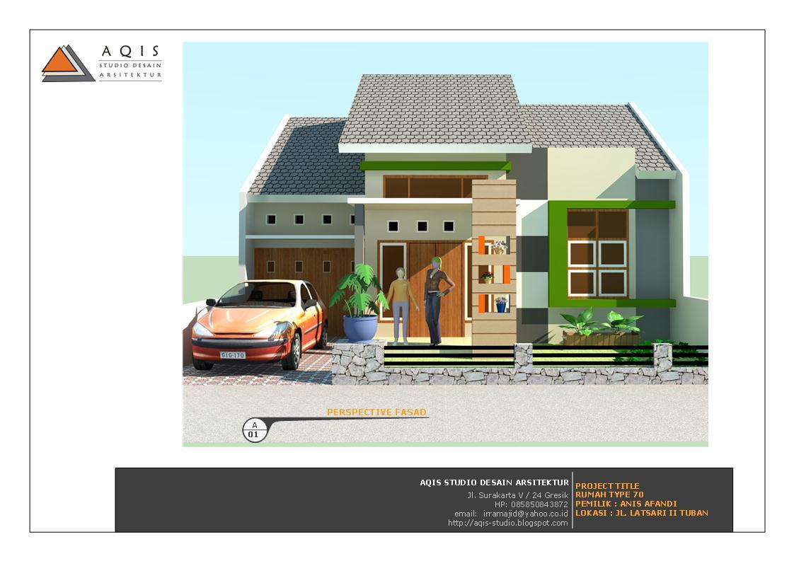 ... dan 2D untuk rumah type 70. Silahkan dapat dilihat lebih detail