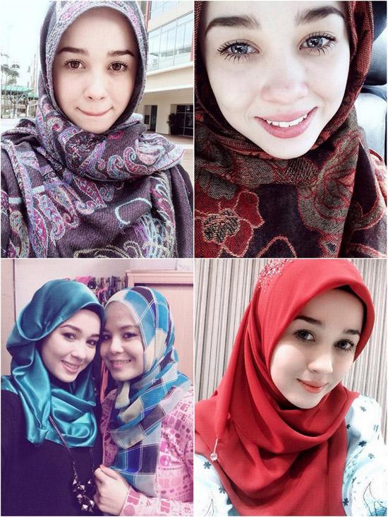 Foto dan gambar cun emma maembong - pelakon dan pelukis Malaysia yang jelita ramai peminat