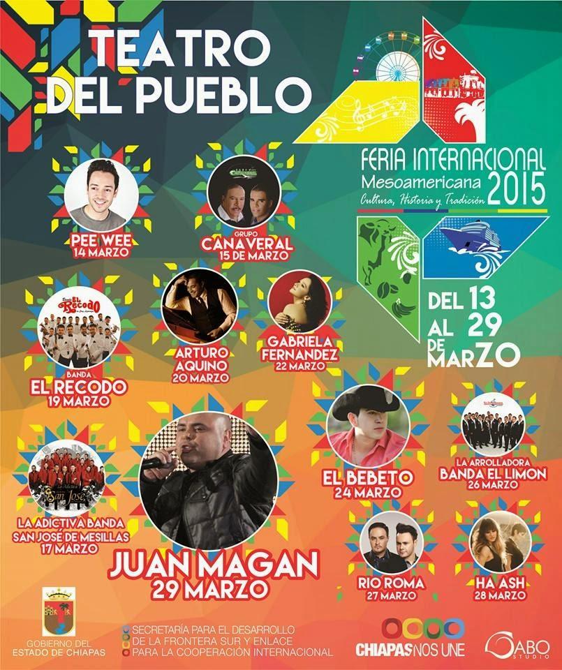 feria internacional tapachula mesoamericana 2015