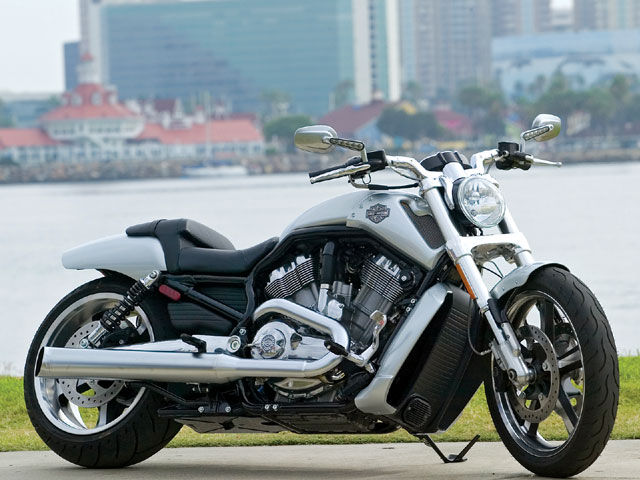 Harley Davidson V Rod Wallpaper