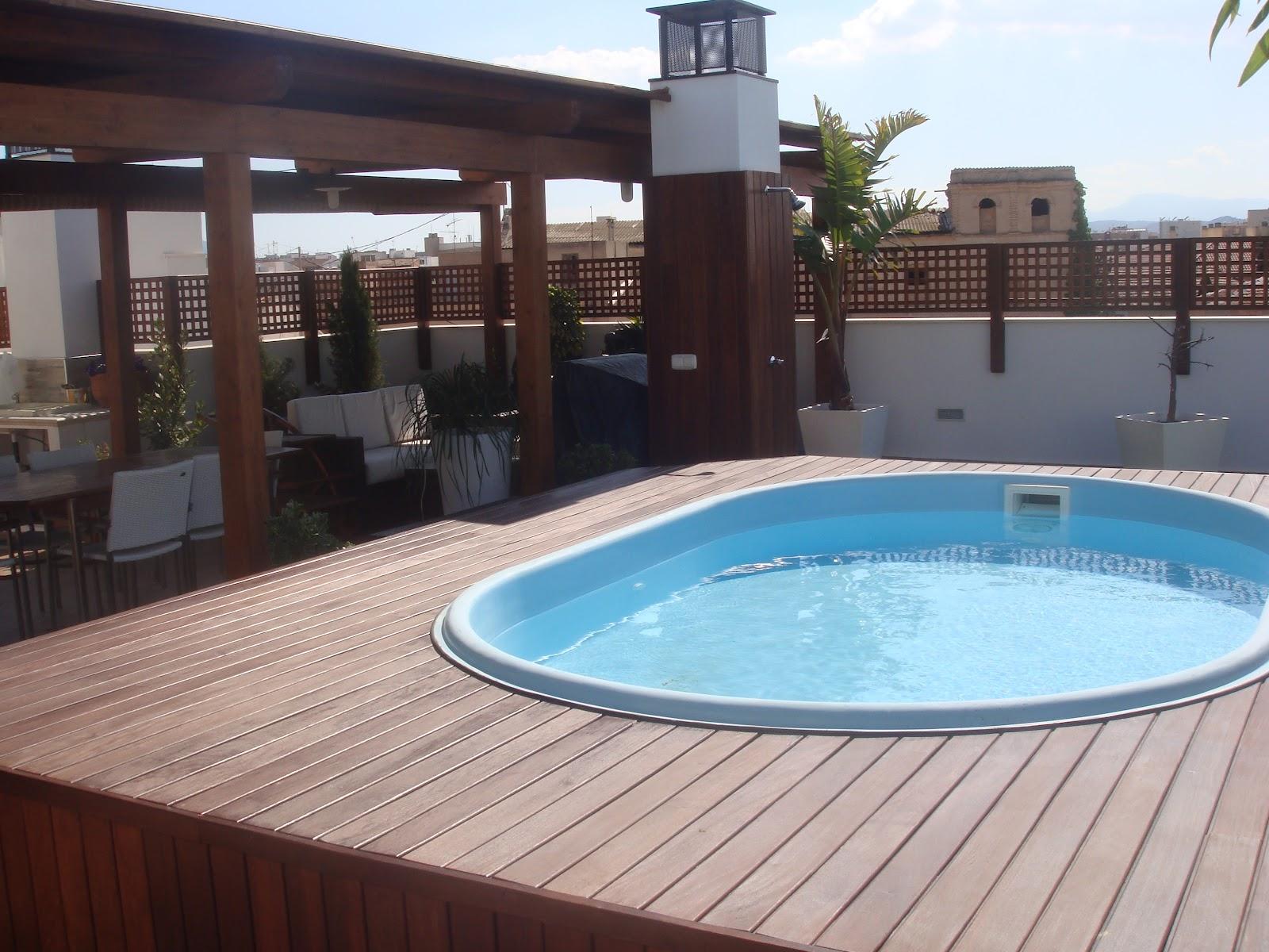 Sauco design adecuaci n de tico - Pergola terraza atico ...