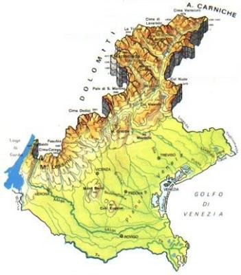 Veneto Mappe della Città