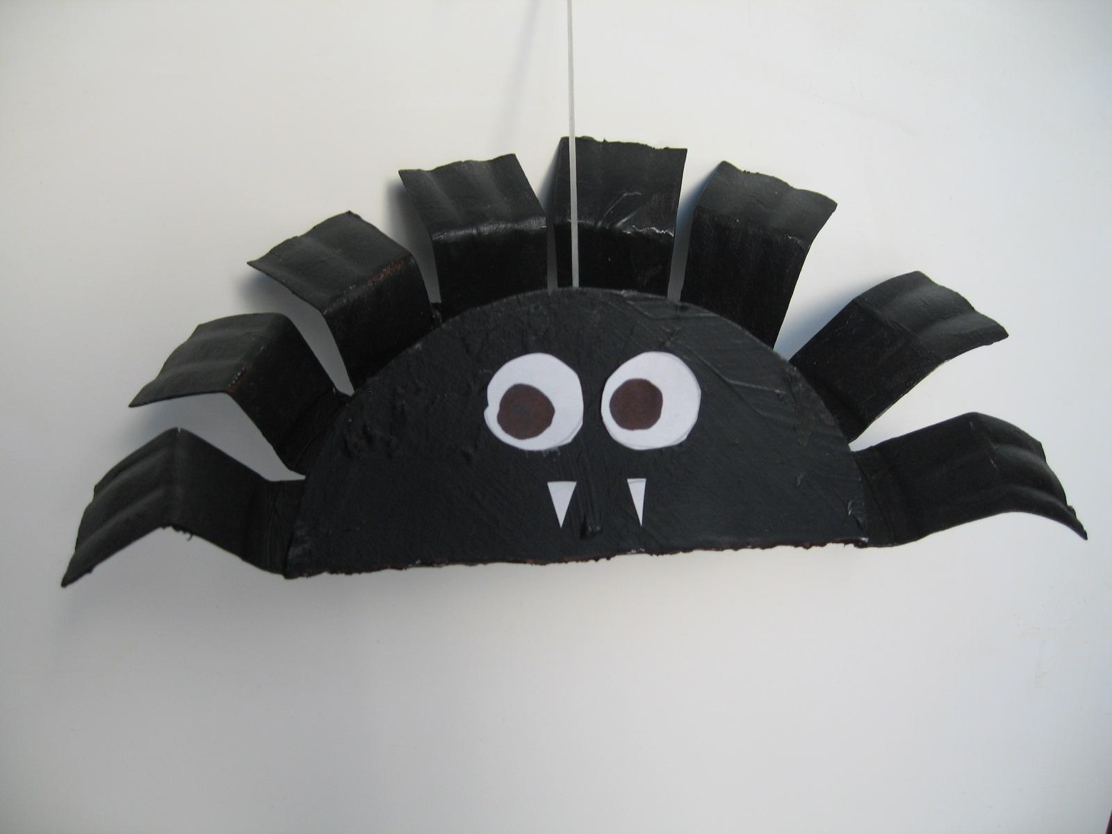 bouncy halloween spider