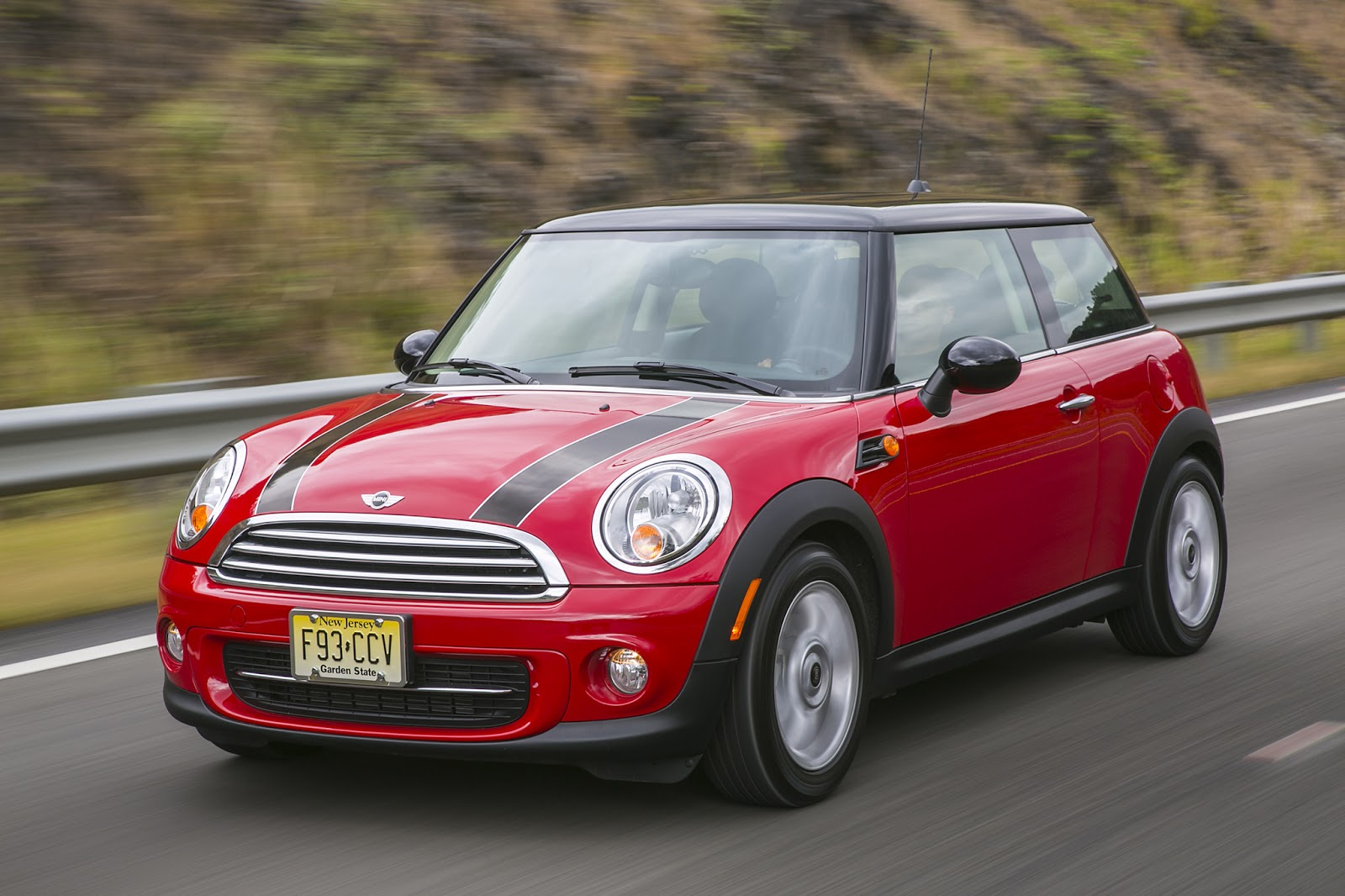 The 2017 Mini Cooper Hardtop In Red And Black