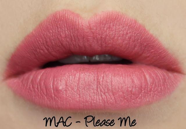 Amazoncom  MAC matte lipstick PLEASE ME  Mac Makeup