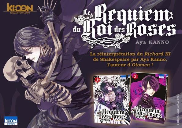 Trailer Manga: Le Requiem du Roi des Roses chez Ki-Oon