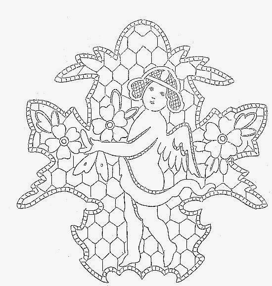 Hobby lavori femminili ricamo uncinetto maglia - Lenzuola da colorare romane ...