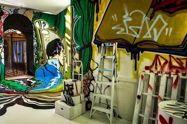 Kunst und Design inspiriert zu ungewöhnlicher Einrichtung