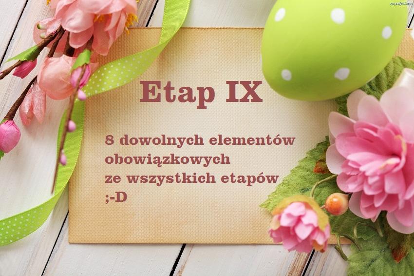 Etap IX