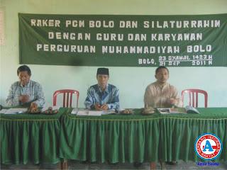 PC Muhammadiyah Bolo Siap Kerja Keras Majukan Pendidikan