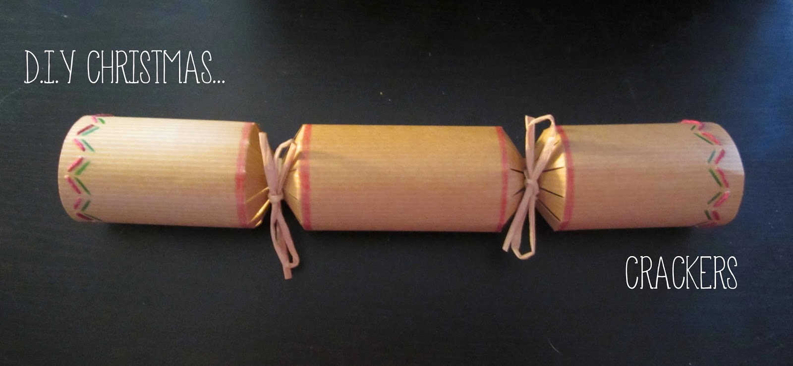 Diy christmas crackers harrietalicefox this year i found these great diy christmas cracker kits in wilkinsons solutioingenieria Image collections