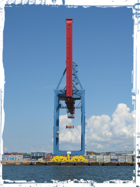 Container Crane - Gothenburg, Sweden