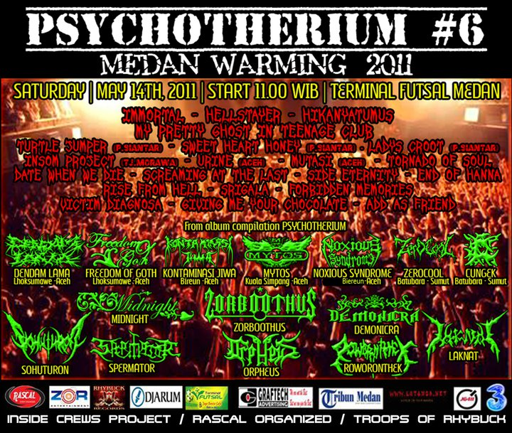 PSYCHOTHERIUM 6 - MEDAN WARMING 2011