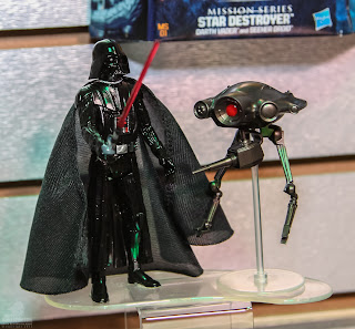 """Hasbro Star Wars 2013 Toy Fair Display Pictures - Mission Series 3.75"""" figure"""