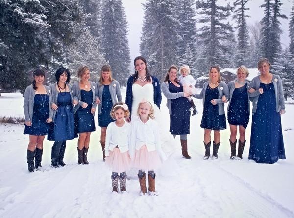 Our Brides The Snow 80