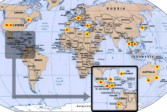 Canada Location Maps on Atlas Pictures – Map of Canada Atlas