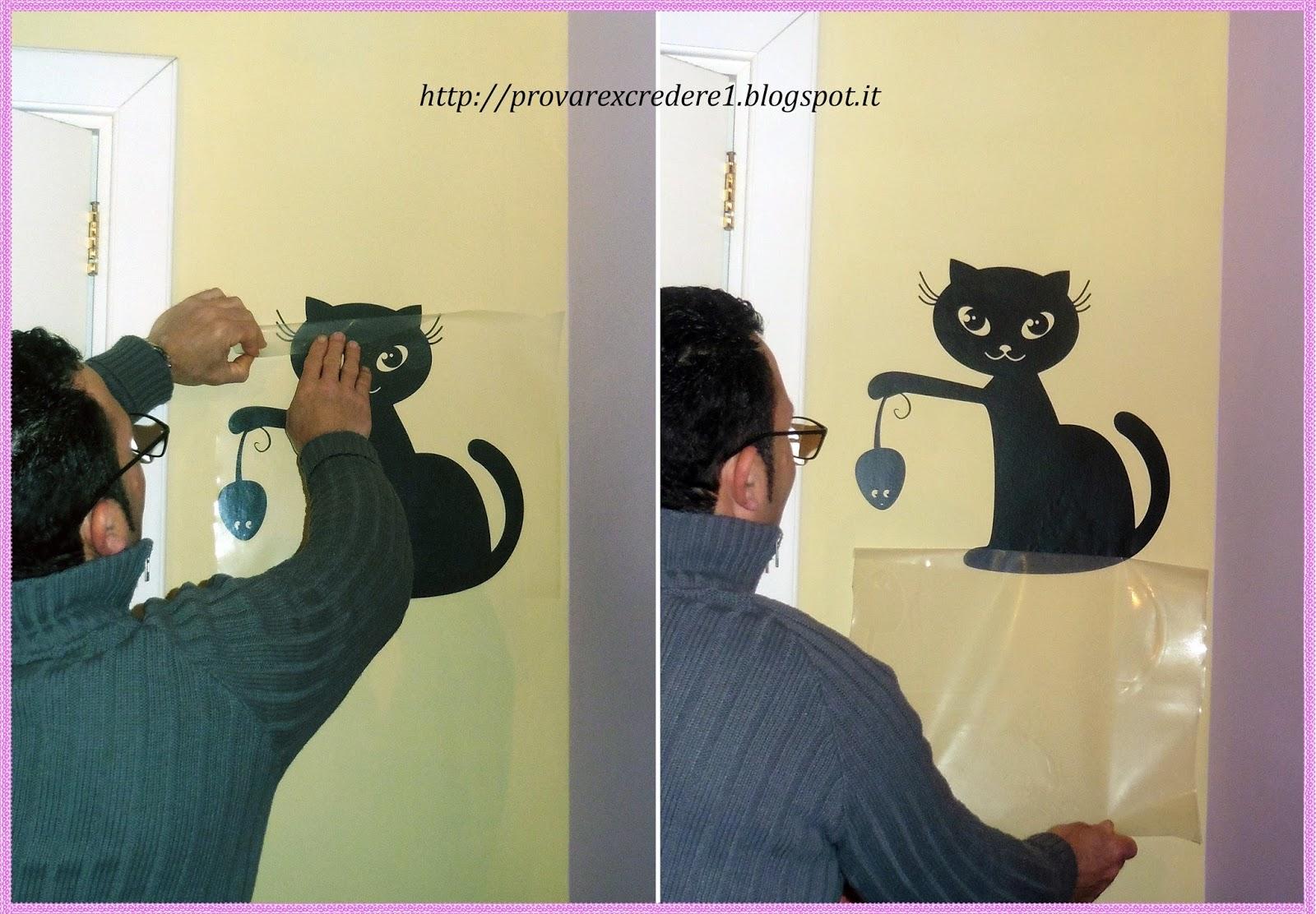 Provare per credere: collaborazione con wall stickers   adesivi murali