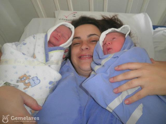 História da mamãe de gêmeos Thais Cavalcanti
