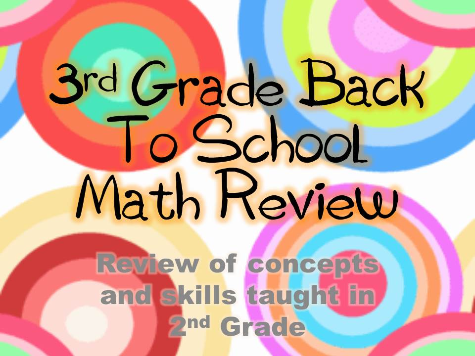 3rd Grade Back To School Math Review | Thrifty in Third Grade