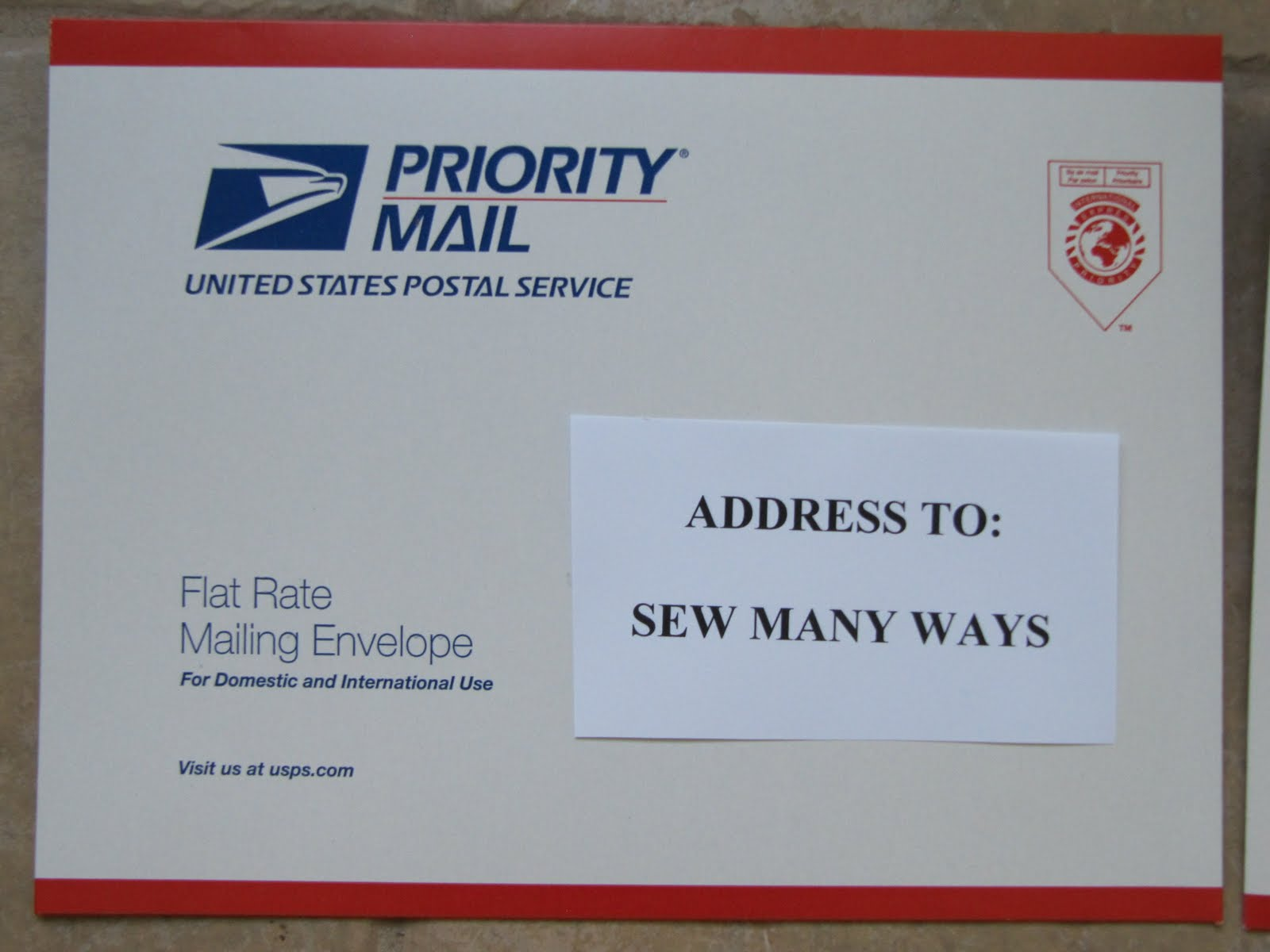 Usps What Not To Write Writing Letters To Deployed Soldiers: What The  Second Envelope Is Addressed Back To The Swapper