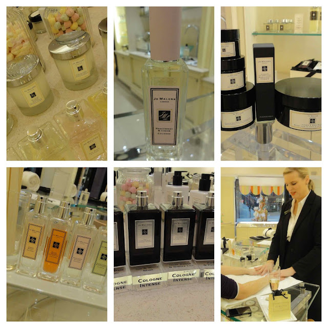 Jo+Malone+Collage Happy 5th Birthday at House of Fraser Belfast!