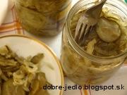 Sterilizovaný uhorkový šalát - recept