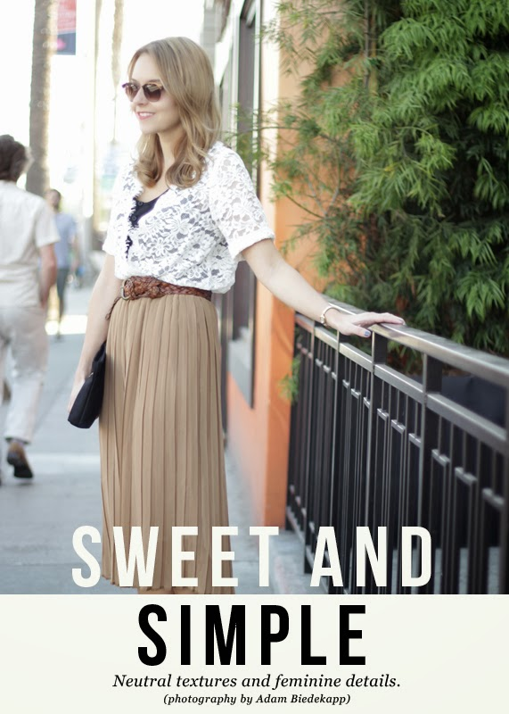 The Steele Maiden: Sweet and Simple