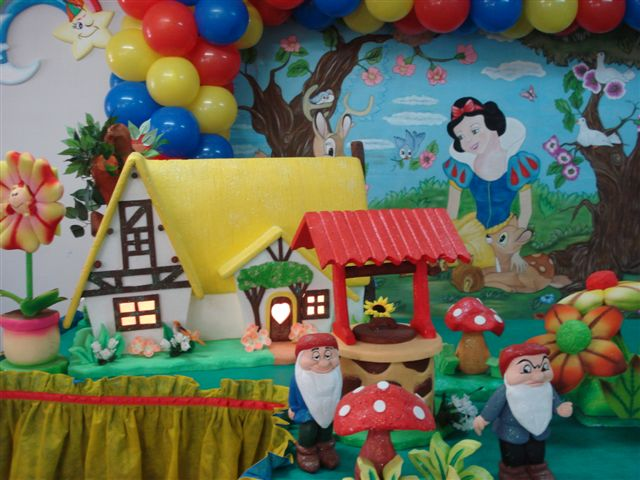 decoracao festa branca de neve provencal:Sonhos festas: festas infantis branca de neve