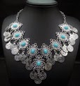 http://www.stylemoi.nu/silver-coin-tassel-filigree-turquoise-necklace.html