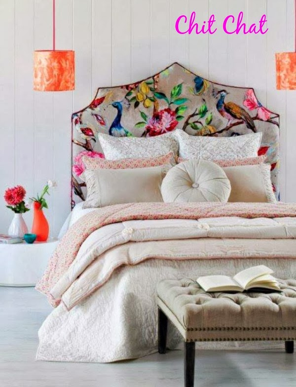Bedroom Floral Headboard