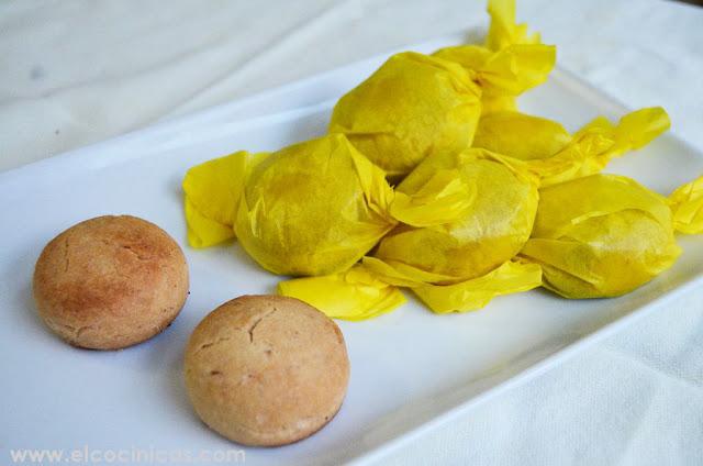 Mantecados de limón