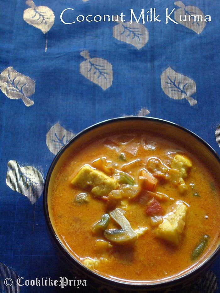 Vegetable And Paneer Stew In Spiced Coconut Milk Recipes — Dishmaps