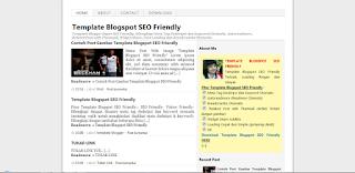 free template blogspot seo friendly