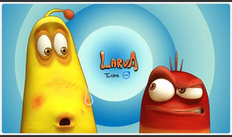 5 video larva cartoon populer www.sepertinya.com