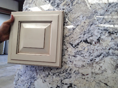 Delicatus White Granite Kitchen
