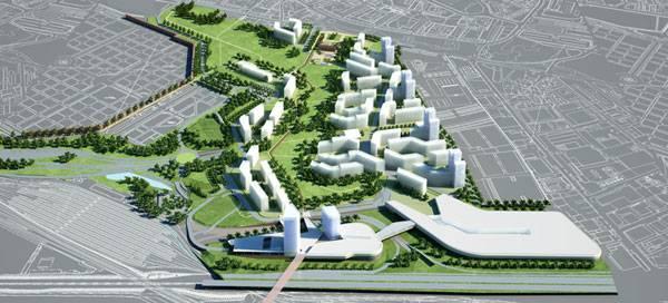 Urbanfile milano cascina merlata masterplan for Master architettura