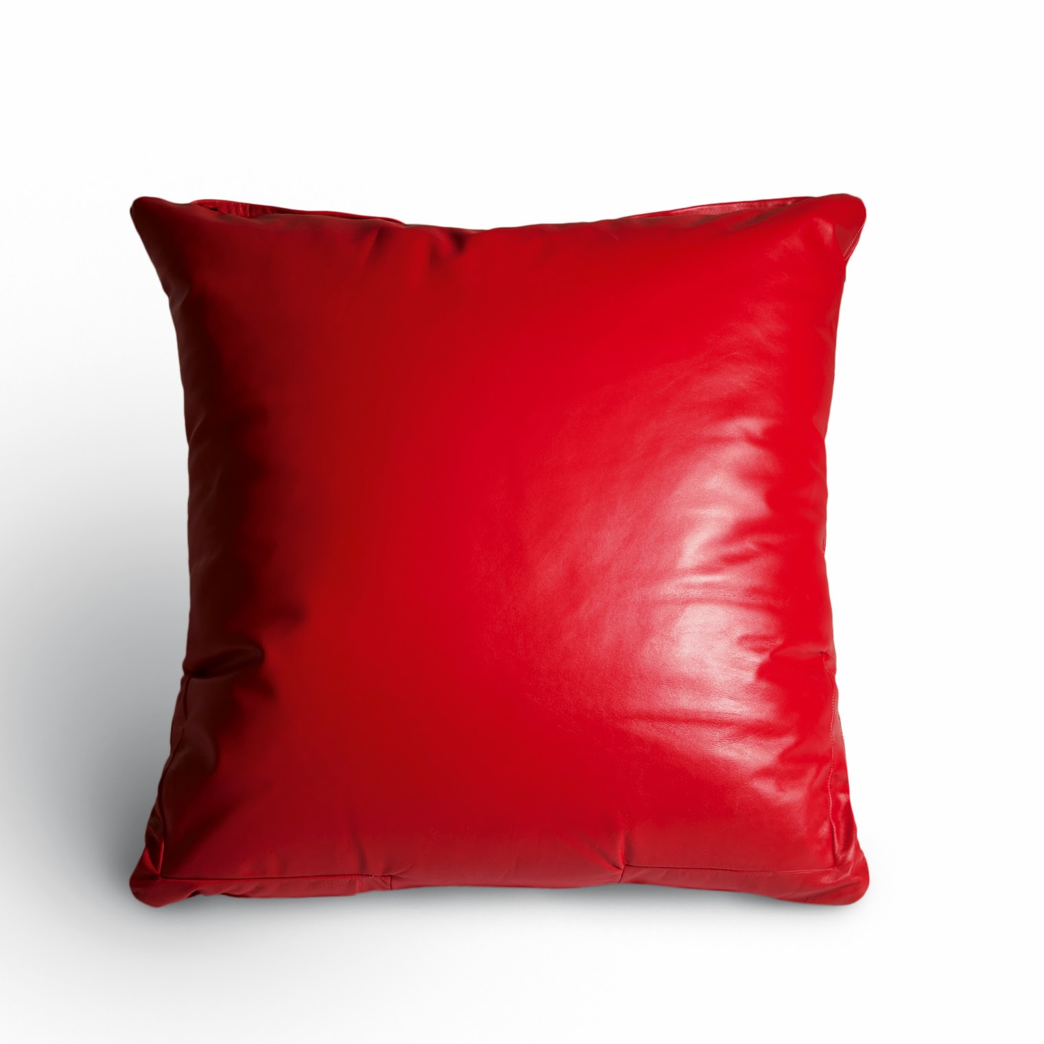 Floor Pillows Leather : Leather Floor Cushion - Le Rouget MilleCouleursBlog