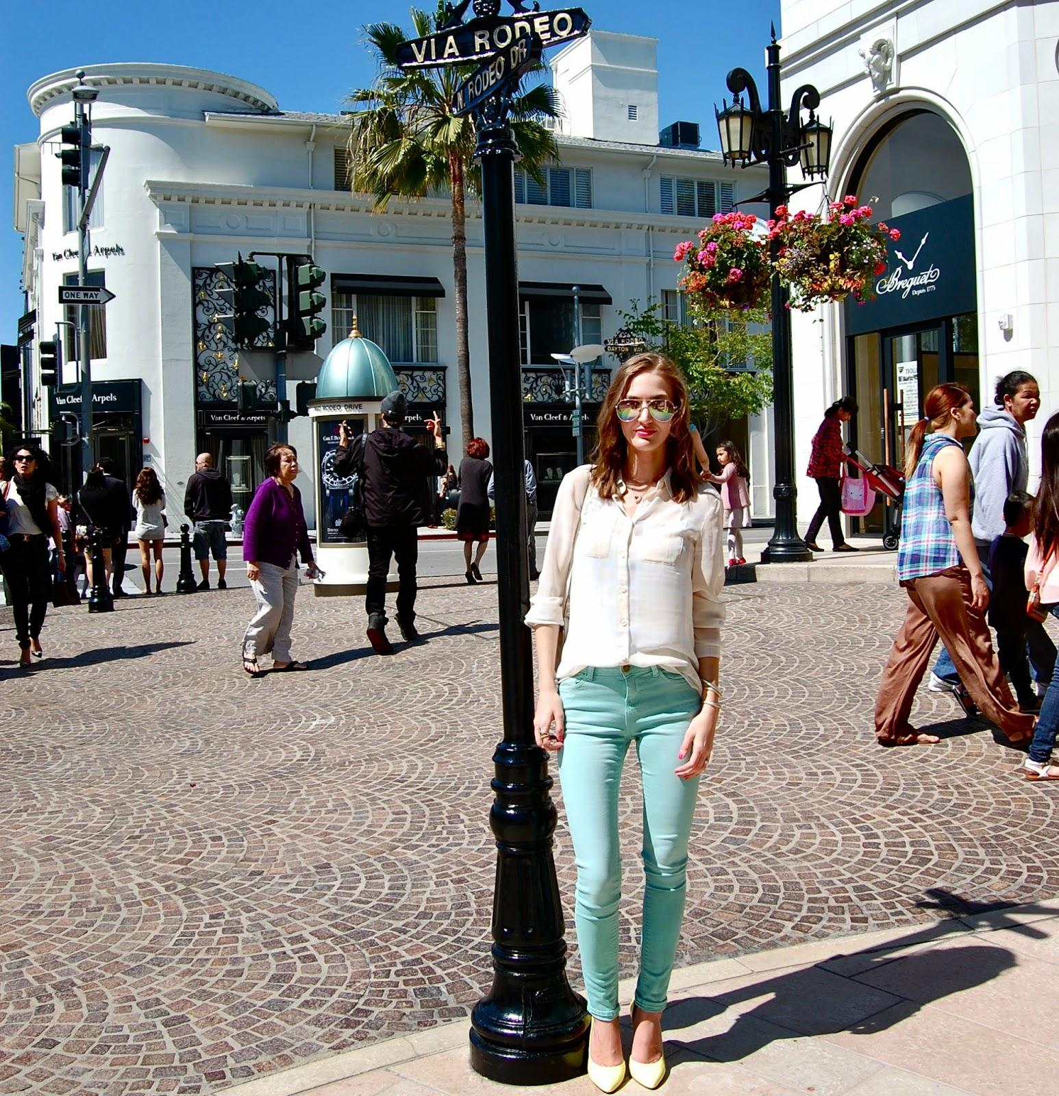 Rodeo Drive, Zara Skinny Jeans