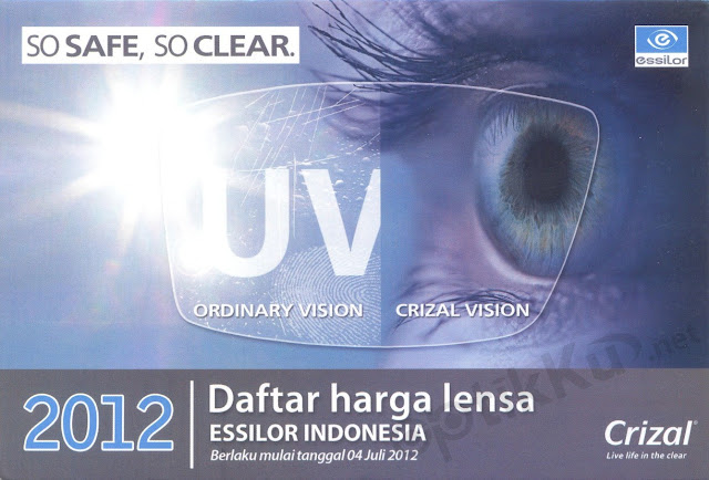 lensa essilor murah plastik kaca mata crizal transitions optifog nikon bening warna single vision safe clear jauh dekat bifokal bifocal progresif progressive