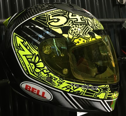 Bell Star Carbon Tagger Trouble Motorcycle Helmet