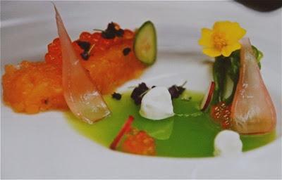Martin Berasategui en Gastronomika con sus platos Blog esteban Capdevila