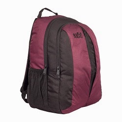 Wildcraft Wiki 7.13 31 Ltrs Maroon Casual Backpack worth Rs.1495 for Rs.825 Only @ Amazon(18 months Warranty)
